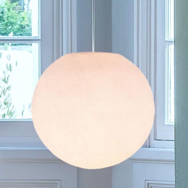 Suspension lumineuse avec abat-jour globe - Dragée