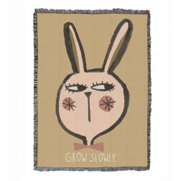 Tapis 140 x 100 cm en coton - Rabbit