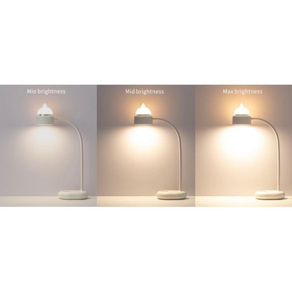 Lampe veilleuse LED dual - Chat - différentes intensités lumineuses