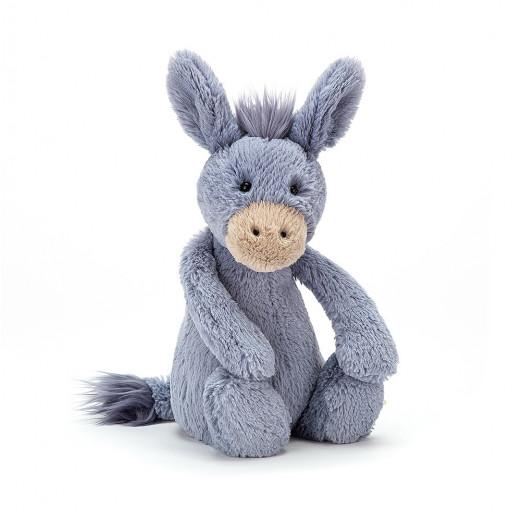 Peluche âne bashful - bleu