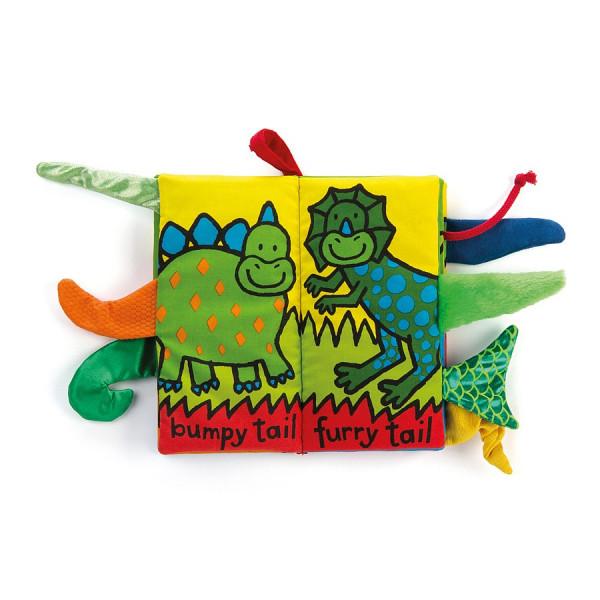 Livre d'éveil à toucher - Dino tails