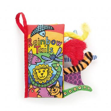 Livre d'éveil à toucher - Rainbow tails