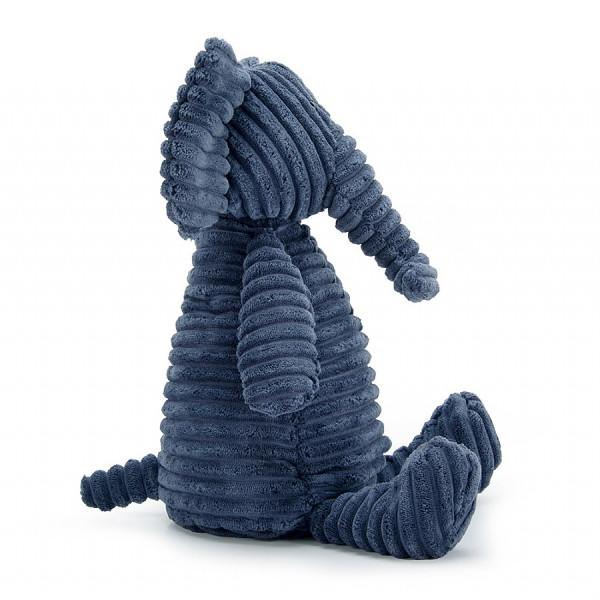 Peluche Cordy Roy - Eléphant bleu nuit