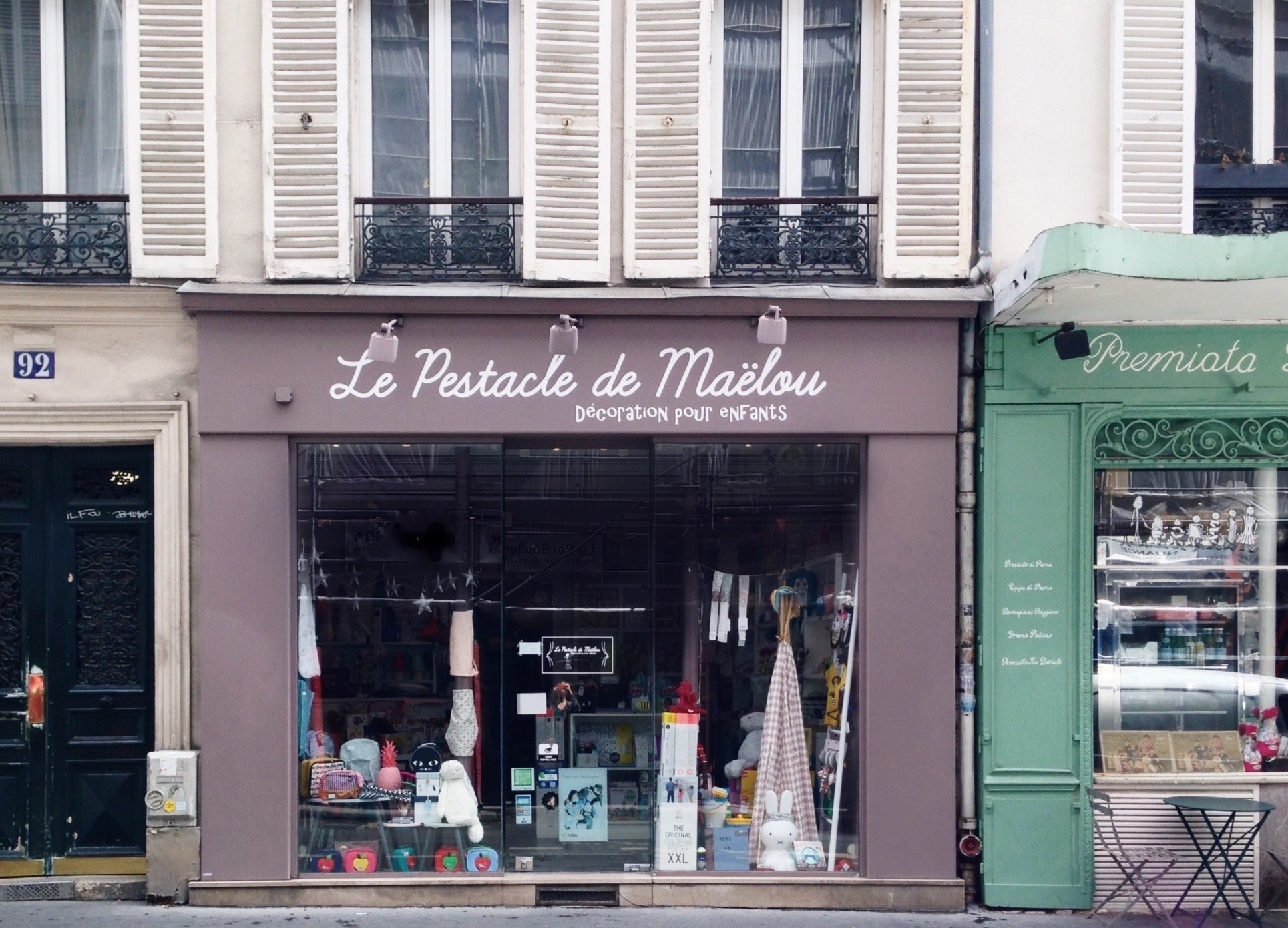 Boutique Le Pestacle de Maëlou Paris 17